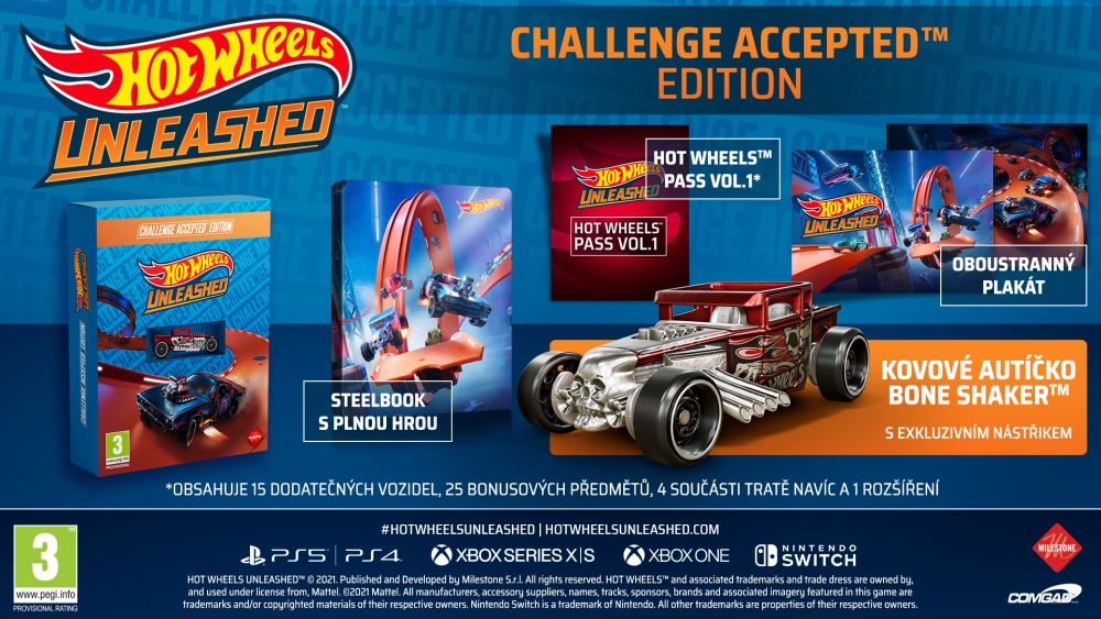 Hot Wheels Unleashed Challenge Accepted Ed.