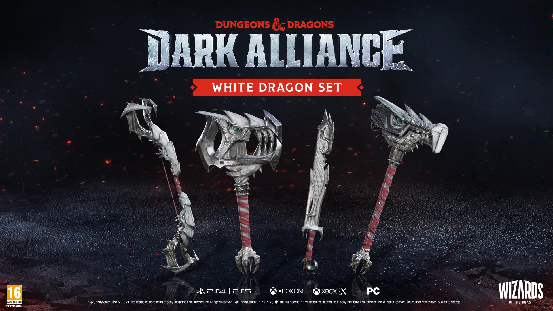 Předobjednávkový bonus Dungeons & Dragons: Dark Alliance