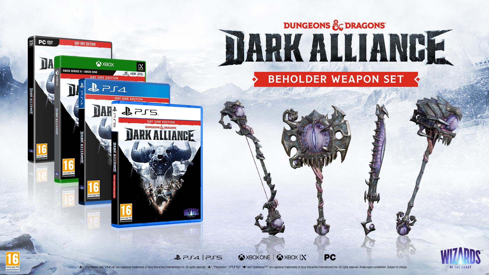 Dungeons & Dragons: Dark Alliance Day One Editiion