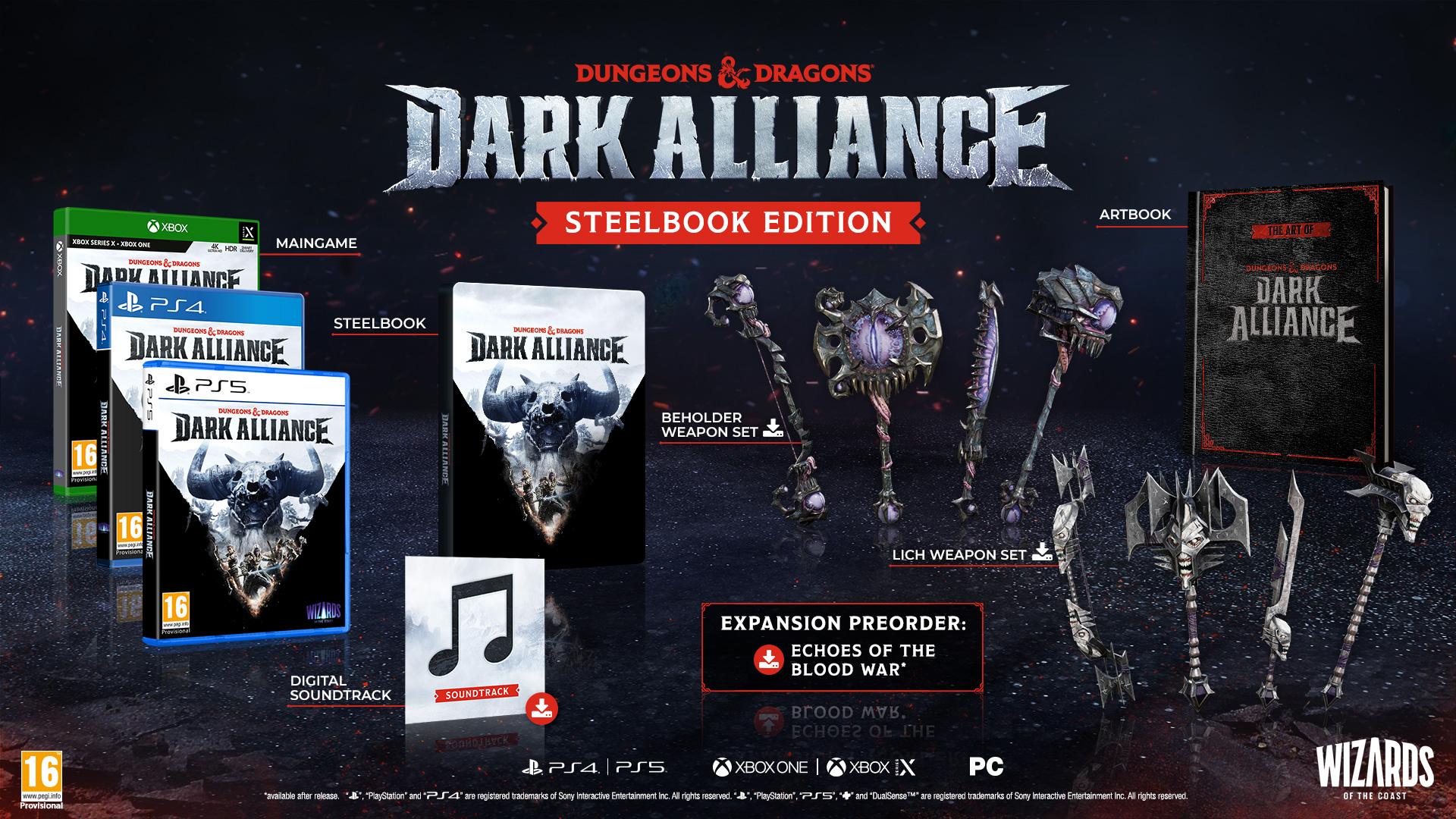 Dungeons & Dragons: Dark Alliance Steelbook Editiion