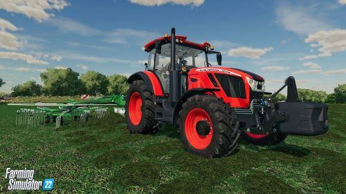 První pohled na paralaxní okluzní mapování ve hře Farming Simulator 22