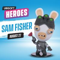 UBI HEROES - RABBID/SAM FISHER