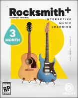 ROCKSMITH+ (3M subscription) PS4