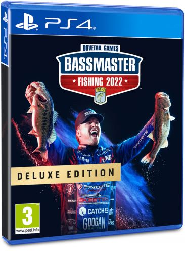 Bassmaster Fishing Deluxe 2022 PS4