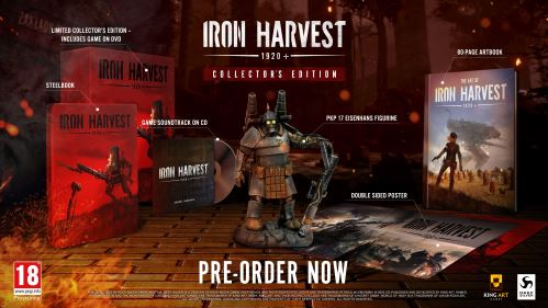 Iron Harvest 1920+ Collector's Edition XBOX ONE
