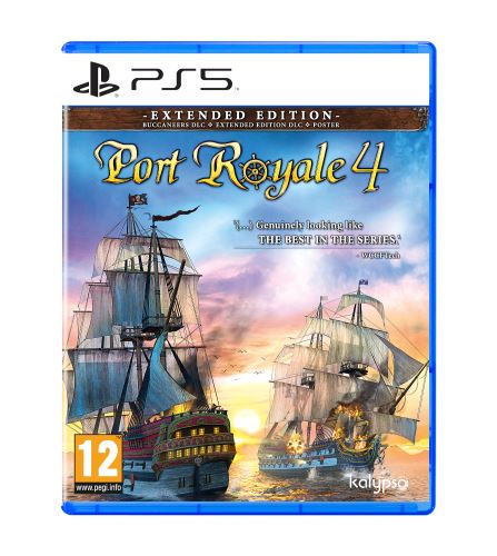 Port Royale 4 Extended Edition PS5