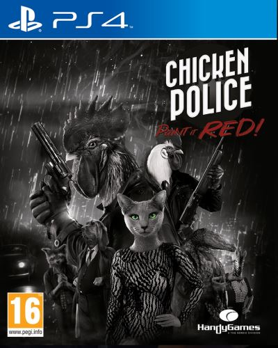 Chicken Police: Paint it red! PS4