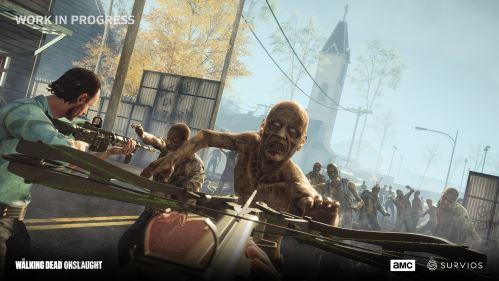 Krabicová verze The Walking Dead Onslaught je na pultech obchodů