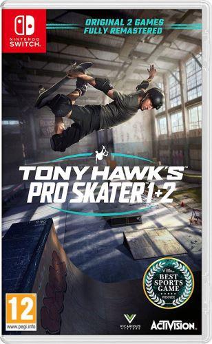 Tony Hawk's Pro Skater 1+2 Switch