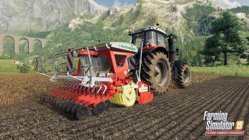 Rozšíření Farming Simulator 19: Alpine je v prodeji
