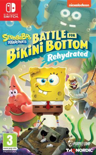 Spongebob SquarePants: Battle for Bikini Bottom - Rehydrated SWITCH
