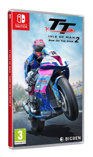 TT Isle of Man Ride on the Edge 2 SWITCH