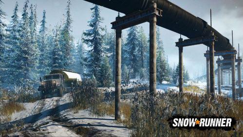 SnowRunner: Pokračování hry MudRunner dostalo nové video a datum vydání!