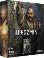 "Puzzle Zaklínač - série II ""Zoltan"""