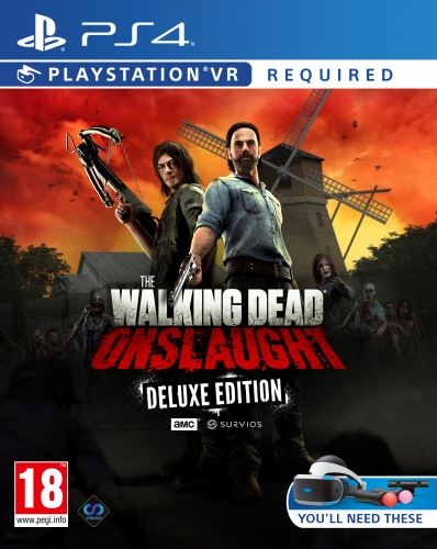 The Walking Dead: Onslaught VR PS4 Deluxe Edition