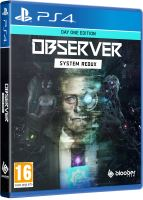 Observer: System Redux Day One Edition PS4