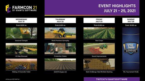 Farming Simulator 22 na FarmConu už od 21. července