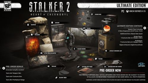 S.T.A.L.K.E.R. 2: Heart of Chernobyl Ultimate Edition XBOX SERIES X