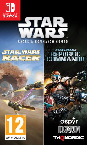 Star Wars Racer and Commando Combo SWITCH