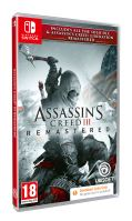 Assassin's Creed 3 + Liberation Remastered SWITCH  CODE IN BOX
